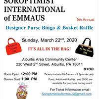 Emmaus Designer Bag Bingo & Raffle
